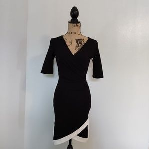 Almost famous black and white dress
